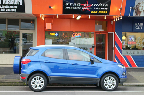 Ford Ecosport Blue Oval Babe The Class Clown